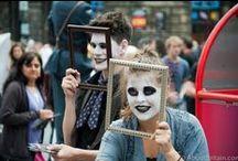 Edinburgh Festival / The annual Edinburgh Festival, and the Edinburgh Festival Fringe...