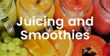 Juicing and Smoothies / Juices and smoothies are a great way to get a lot of fruits and vegetables in your diet at one time. Check out some of my favorite recipes!