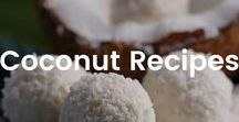 Coconut Recipes / Recipes using the superfood coconut.