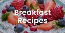 Breakfast Recipes / Breakfast is the most important meal of the day! Make sure its healthy and delicious.