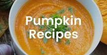 Pumpkin Recipes / Pumpkin is a delicious fall staple. Check out these recipes to incorporate in your diet more often.