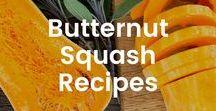 Butternut Squash Recipes / Unique recipes ideas using butternut squash.