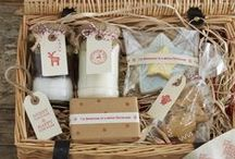 Christmas Hampers / Add a special touch to Christmas this year with home-made Christmas hampers filled with sweet treats and hand-made decorations. Take inspiration from our favourite finds.  / by Merlin Events London