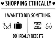 Eco Friendly Brands / Inspiration for shopping ethically + links towards ethical/eco friendly brands
