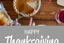 Happy Thanksgiving / Holiday tips and inspiration for Thanksgiving