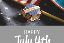 Happy July 4th / Holiday tips and inspiration for July 4th