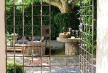 Terrific Terraces / Terrific Terraces...and Porches. Fabulous outdoor space.  And cozy.