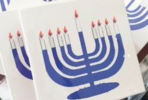 Chanukah/Hanukkah / Festive finds including sweet treats, clothing gifts and home decor for Chanukah.
