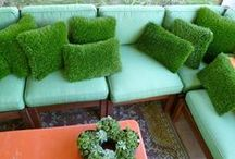 Out of the Box Turf Ideas / Innovative ways to use our artificial turf!