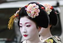 Geisha and the floating world / Pictures from Japan's floating world. Erika-e, ozashiki and gion matsuri - there are many places to see geishas. This is a curated list on pinterest.