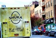 The Shuka Truck / Three childhood friends who grew up together in Israel are bringing shakshuka to New York.