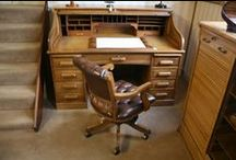 Roll Top Desks / Antique Roll Top Desks