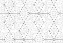 Patronen / Creatieve patronen voor websites. Kan gebruikt worden als achtergrond bij one-page design of om leuke accenten toe te voegen.