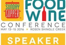2016 Food Wine Conference Speakers / Attend the conference and tap into information and resources that can lead to growth for both you and your blog. Connections are very important in today's ever growing blogosphere. This conference puts you and those connections in one place. It is an opportunity not to miss! Here are some of 2016 Food Wine Conference Speakers.