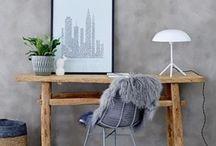 Home office | Interior inspiration / Everyone who works at home knows that a stylish home office can be very inspiring an productive. Get inspired! Jeder, der von zuhause arbeitet, weiß, dass ein stylisches Home Office sehr inspirierend und ausschlaggebend für die Produktivität sein kann.