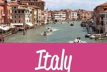 Italy Travel Inspiration / The best Italy travel tips and inspiration