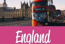 England Travel Inspiration / The best England travel tips and inspiration
