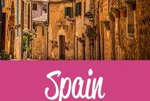 Spain Travel Inspiration / The best Spain travel tips and inspiration