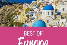 Trimm Travels: Best Of Europe / The best European travel tips and inspiration from Trimm Travels Travel, Food and Photography Blog