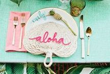 Wedding Trend - Tropical