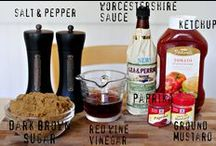 Recipes: Sauces and Condiments