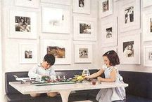 Cool Photo Displays / How to display your family photos, great photography displays for your home, modern photo displays