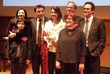 """Remise des Prix """"Coup de Pousse"""" / Le 14 mars 2013, nous avons assisté à la remise des prix du concours """"Coup de Pousse"""", qui récompensait les entreprises innovantes du Languedoc-Roussillon. Deux entreprises accompagnées par Lozère Développement étaient Lauréates : Défi développement économique régional, Catégorie Espoir :  France Résille.  Défi égalité des chances, Catégorie Espoir : Équiphoria"""