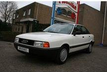 VERKOCHT - Audi 80 1.8S / Audi 80 1.8S - Sedan (4 drs) Vermogen motor:89 PK Aantal cilinders:4 Bouwjaar:december 1988 Kleur: Licht wit Bekleding:Stof (Antraciet) Brandstof:Benzine Versnellingsbak:Handgeschakeld, 5 versnellingen Km. stand:39.000 km Cilinderinhoud:1.760 cc Gewicht (leeg):1.050 kg Max. trekgewicht:1.200 kg BTW/Marge: Marge Prijs: € 5.450 Kosten rijklaar maken:€ 650
