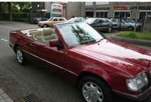 VERKOCHT - Mercedes-Benz 300 CE A124 / MB 300 CE A124 - 200-Klasse 200 300CE CABRIO BIJTELLINGSVRIENDELIJK € 18.500. Bouwjaar: januari 1994 Kleur: Almadienrood metallic Brandstof: Benzine Versnellingsbak: handgeschakeld, 5 versnellingen Km. stand: 114.000 km BTW/Marge: BTW Prijs: € 18.500 Kosten rijklaar maken: € 850