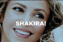 Shakira! / Get a peek behind the scenes at our new global ambassador of brilliantly dimensional smiles.