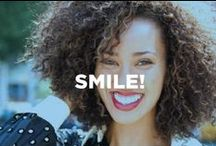 Smile! / Sharing our favorite shots of beautiful smiles and scenes to inspire you.