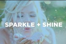 Sparkle + Shine / All things glittered and glam.