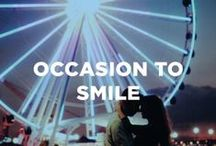 Occasion to Smile / Moments and milestones to capture.