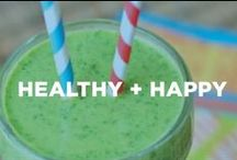 Healthy + Happy / Healthy living tips for your and your family.