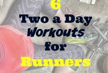 Running Workouts / Treadmill + Track + Training Workouts