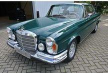 VERKOCHT - Mercedes-Benz 280SE 3.5 Coupé Flachkuhler W111 / Mercedes-Benz, model: S-Klasse, type: Mercedes 280SE 3.5 Coupé Flachkuhler, inrichting: Coupé (2 drs). Vermogen motor: 200 PK, aantal cilinders:8, bouwjaar: mei 1970, kleur: groen, bekleding: leder (two tone cognac). Brandstof: benzine, versnellingsbak: automaat, km. stand: 27.700 km, cilinderinhoud: 3.459 cc, gewicht (leeg):1.570 kg, APK: bij aflevering. Prijs: € 72.500.