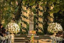 FLORALIADECOR: Glamorous Wedding in Four Seasons / #Floraliadecor #PlanningBCAtelierInstambul #PhotographyMassimoBonon #LocationFourSeasonsFlorence