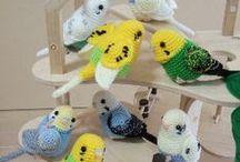 Háčkované postavičky - Crocheted Toy