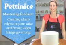Mastering your fondant / In these best practice links, we show you some helpful tips and tricks for mastering your fondant. Need help creating sharp edges? Are you kneading your fondant enough? Troubleshooting and how-to videos have been created to help you achieve the best results for your next cake project.
