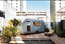 CARAVAN TOKYO / CARAVAN TOKYO is the very first Designers Caravan accommodation in Tokyo. This project is one of the Conceptual idea based by DRIVETHRU. DRIVETHRU focus on next mobility life in Tokyo.  BOOKING http://caravantokyo.com  MORE INFO http://drivethru.jp/project/caravantokyo