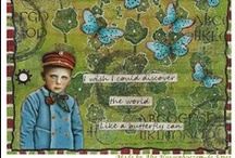 Art Journal 1 - Mixed Media / art journal - mixed media