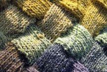 knitting crochet / by Brita Stein
