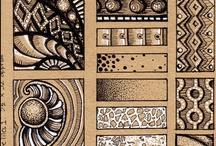 Doodle - Zentangle patterns
