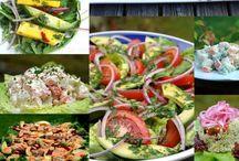 Whole Food Recipes: Salads / Fantastic Salad and Salad Dressing Recipes