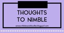 Thoughts to Nimble | Anne's Scribbles and Doodles / Random Quotes, Inspirations and Motivational Poetic Boosts