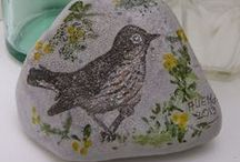 Stone Art - Painted Rocks - Painted Stones / Painted stones - Painted rocks - Stone Art