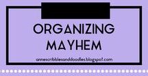 Organizing Mayhem | Anne's Scribbles and Doodles / DIY Projects, Ideas and Solutions on All Things Organization, Storage and Order