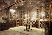 Wine Cellars / We can only dream to have wine cellars like these... why not pin them?!