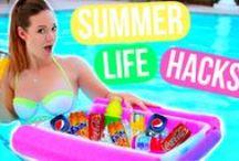 Summer DIYS/Hacks / SUMMER!!