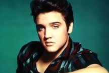 The King of Rock 'n' Roll Elvis Presley / Elvis Presley born on January 8, 1935, in Tupelo, Mississippi, He came from very humble beginnings and grew up to become one of the biggest names in rock 'n' roll. On August 16, 1977, at age 42, he died of heart failure, which was related to his drug addiction.